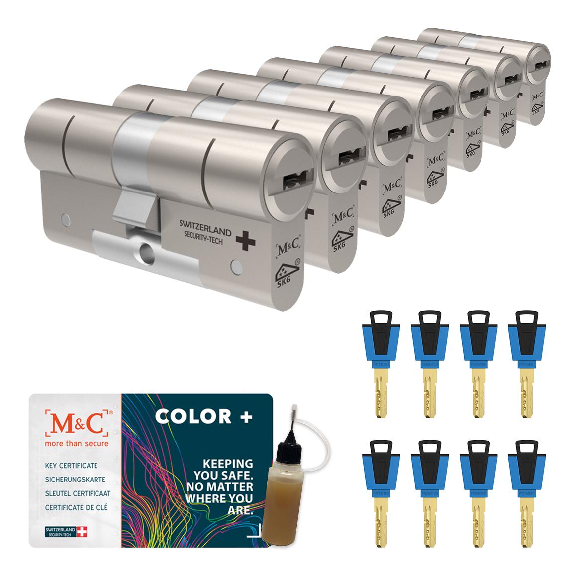 Afbeelding van Cilinderslot M&C Color+ (7 stuks)