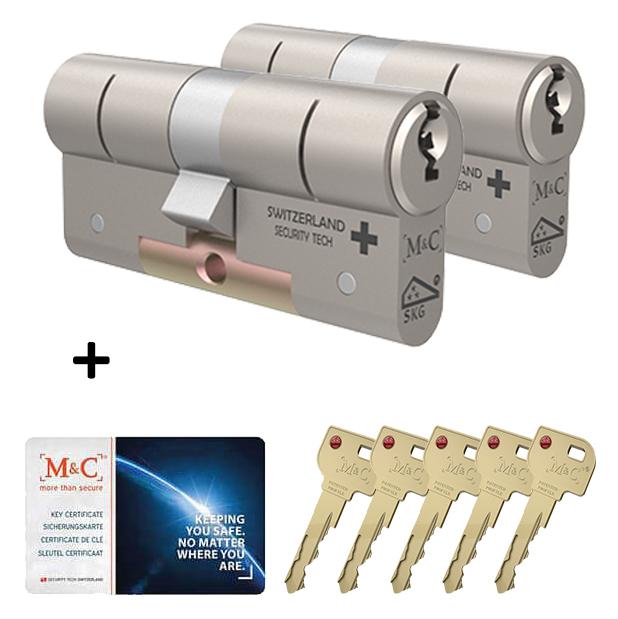 Afbeelding van Cilinderslot M&C Matrix (2 stuks)